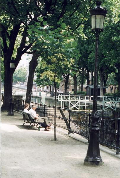 St Martin Canal - Paris