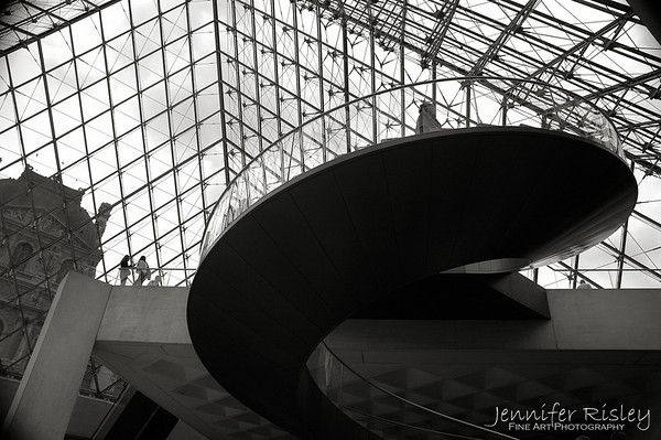 Musee du Louvre Staircase