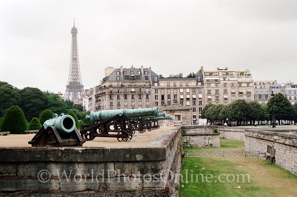 Paris - Hotel Des Invalides - Defensive Moat