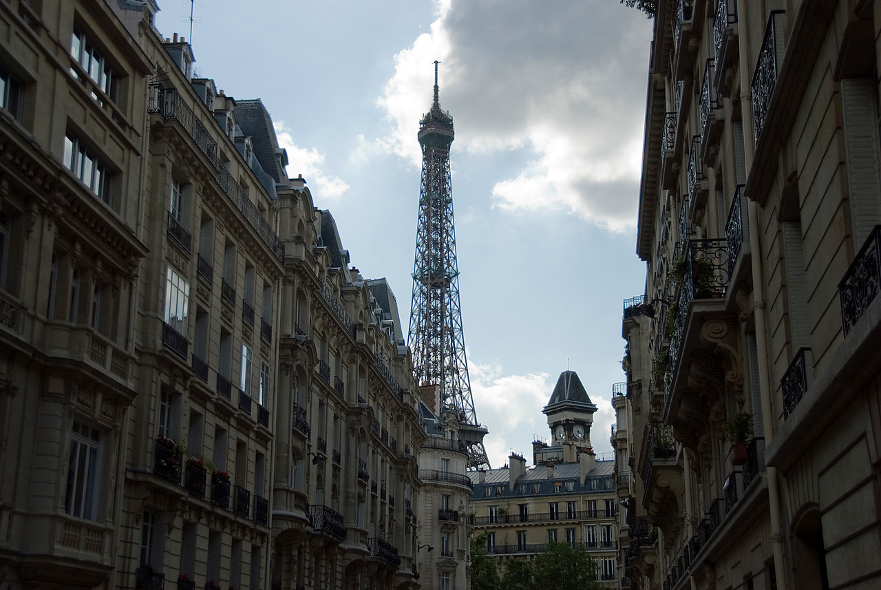 The sights of Paris, France