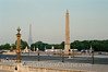 Paris - Place De La Concorde w Egyptian Obelisk