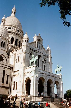 Paris - Basilica of Sacre Coeur