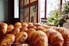 """Croissants and other baked goods at <a target=""""NEWWIN"""" href=""""http://en.wikipedia.org/wiki/Ladur%C3%A9e"""">Ladurée</a>, Paris, France"""