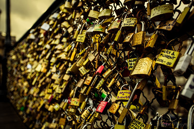 Lock Bridge, Paris, France