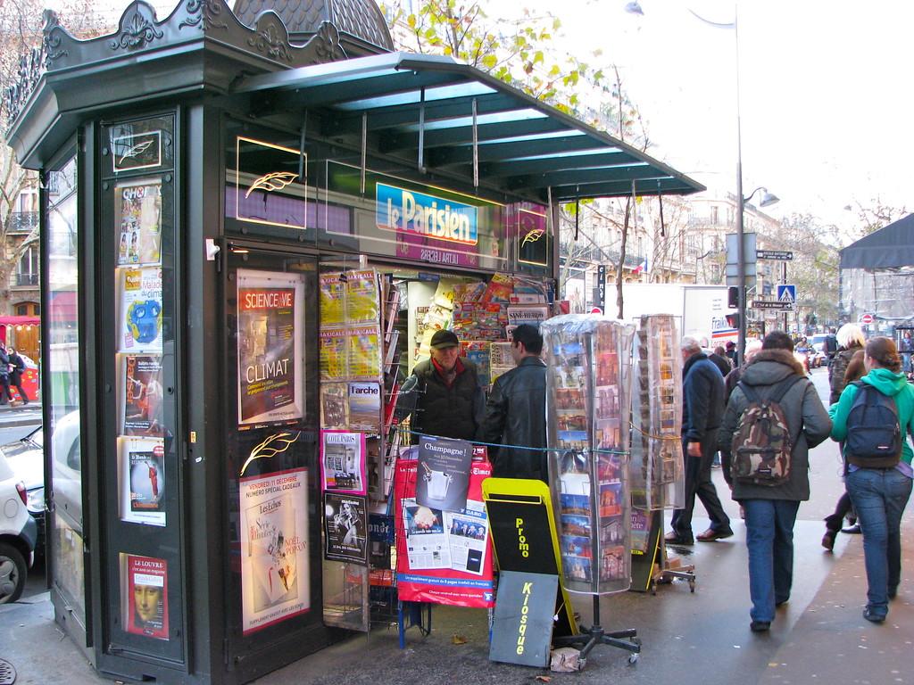 News Stand - Paris, France