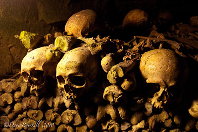 Europe-France-Paris-Catacombes