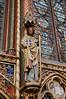 Paris - St Chapelle - Statue of Apostle