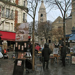 Artists on Montmartre – Paris, France – Daily Photo