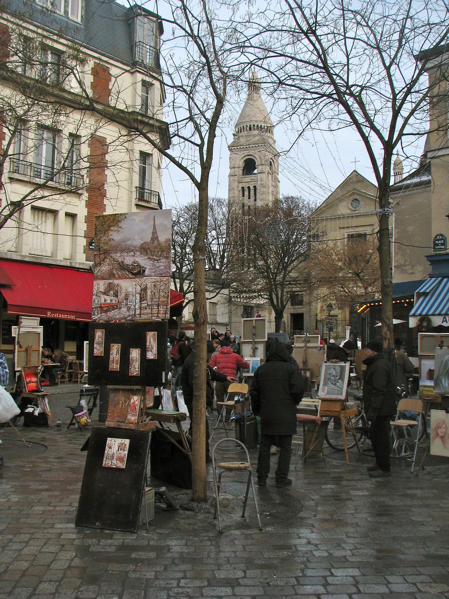 Artists on Montmartre – Paris, France – Photo