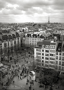 View from Pompidou Center