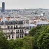 Paris viewed from Montmartre