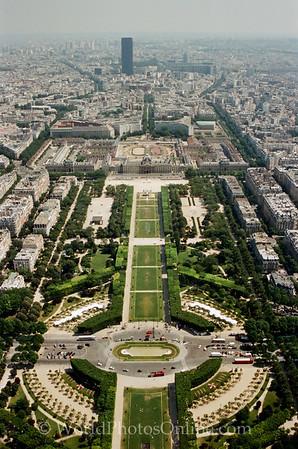 Paris - E Tower - View of Paris 1