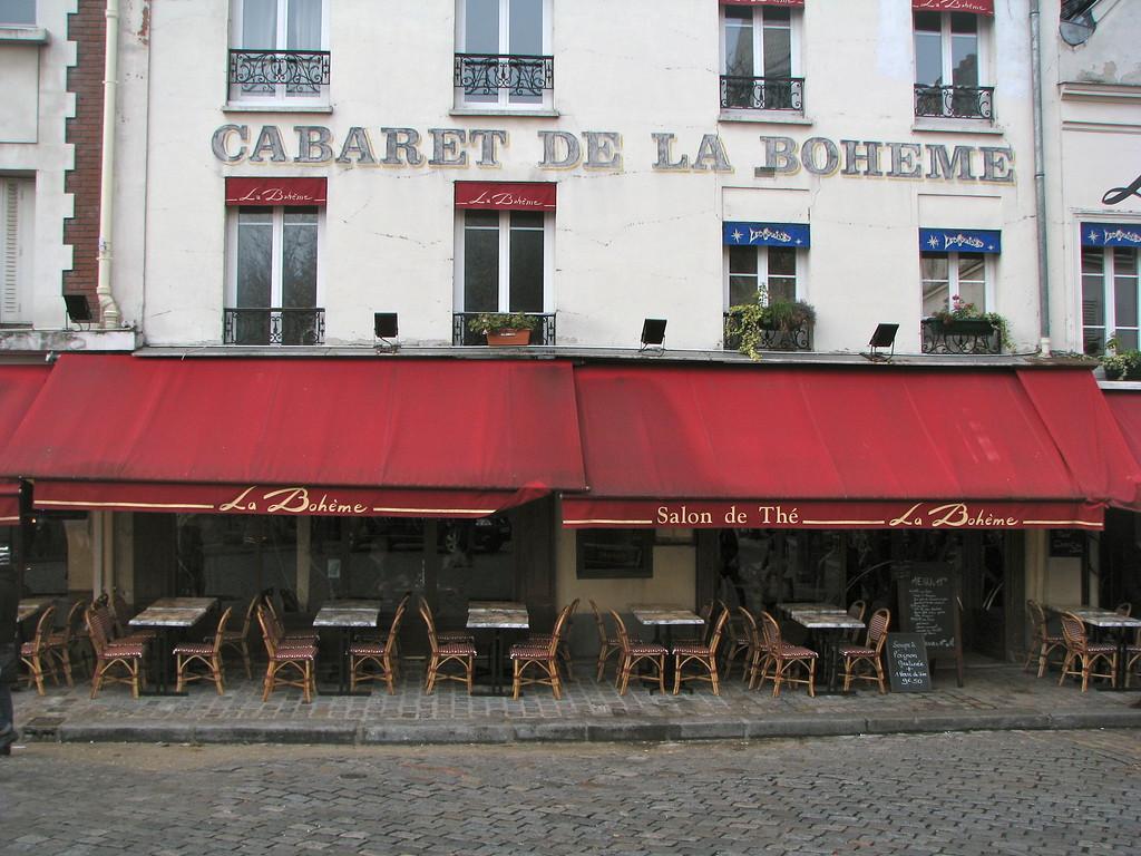 Cabaret de la Boheme - Paris, France