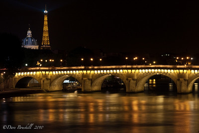 Europe-France-Paris-Pont-Neuf-Night