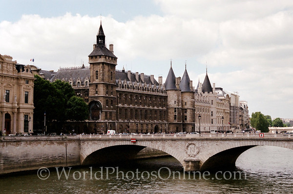 Paris - Napoleon Bridge across Seine River