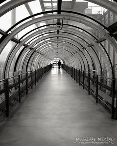 Pompidou Center Walkway