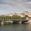 Paris over the River Seine