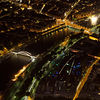 "View of the <a target=""NEWWIN"" href=""http://en.wikipedia.org/wiki/Seine"">Seine</a> at night, as seen from the <a target=""NEWWIN"" href=""http://en.wikipedia.org/wiki/Eiffel_tower"">Tour Eiffel</a>, Paris, France"