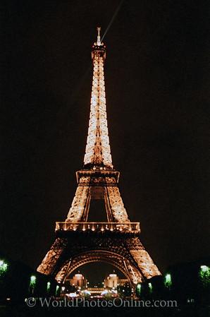 Paris - E Tower at night