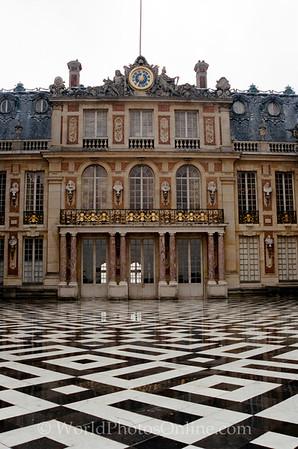 Versailles - Marble Courtyard Entrance