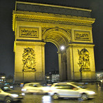 Arc de Triumph at Night – Paris, France – Daily Photo