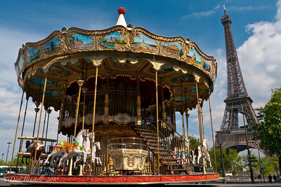 Europe-France-Paris-Carousel