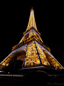 Eiffel Tower on angle
