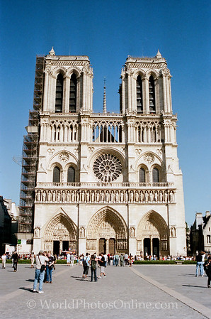 Paris - Cathedral of Notre Dame 2