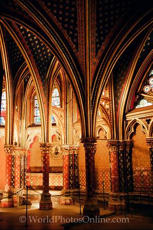 Paris - St Chapelle - Lower Chapel