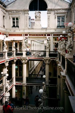 Nantes - Passage Pommeraye - 1843 AD Shopping Arcade