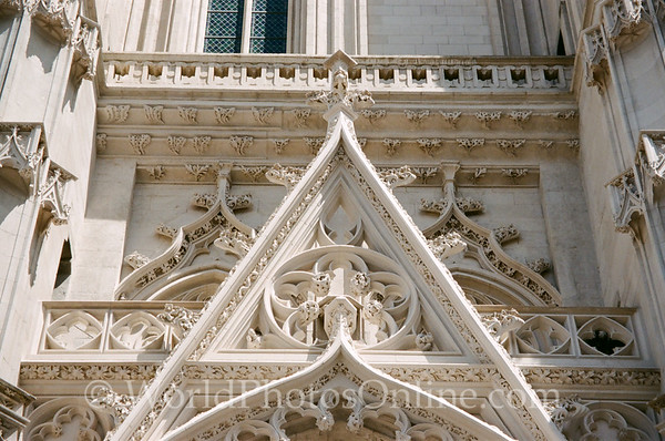 Nantes - Cathedral of St Peter and Paul - Stonework Detail 1