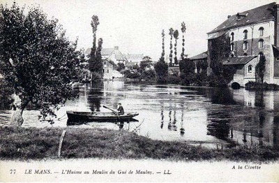 L'Huisne au Moulin du Gué de Maulny