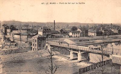 Pont de Fer sur la Sarthe