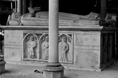 Pere-La-Chaise Cemetery in Paris, France