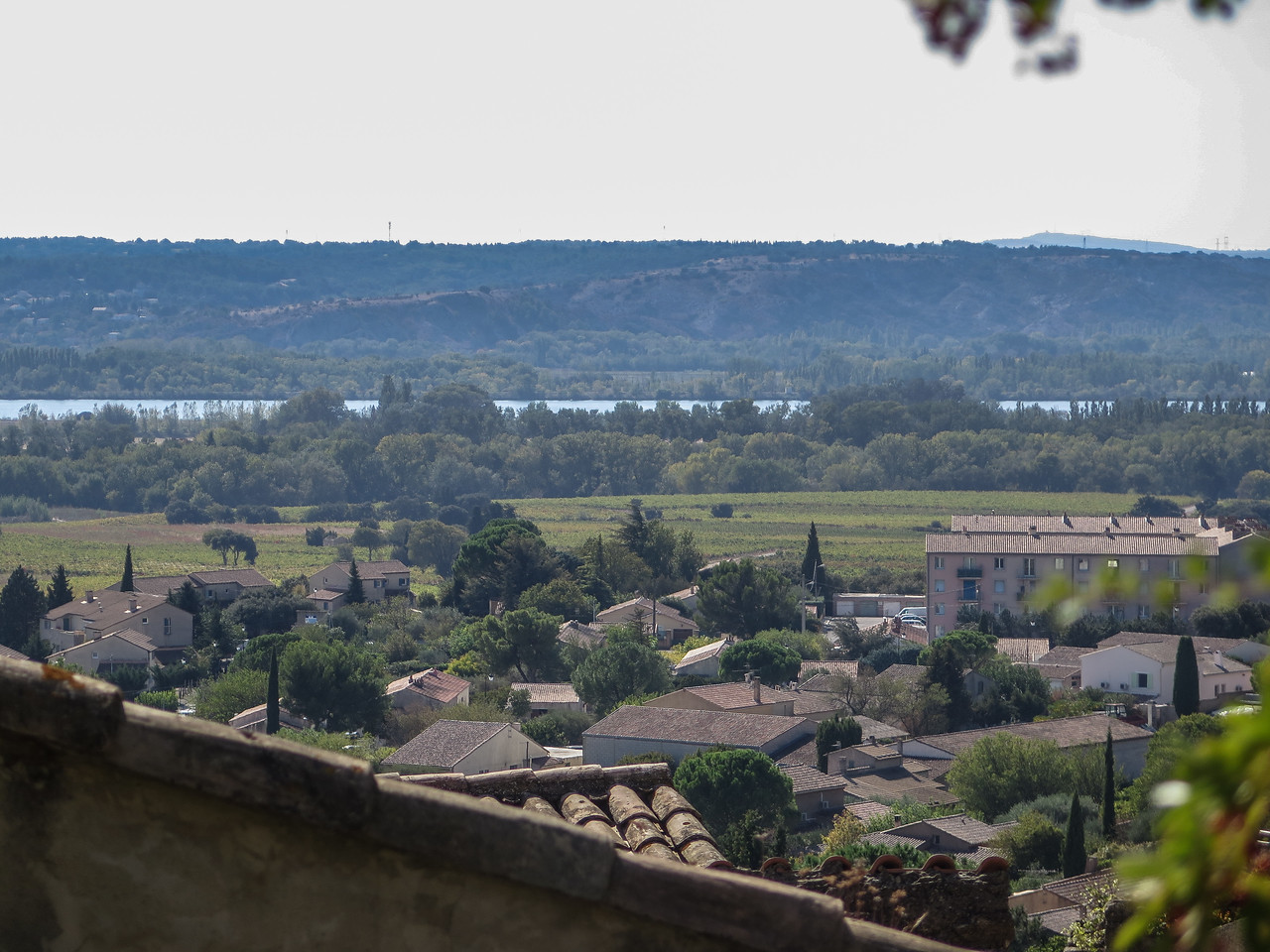 The Rhône from Chateauneuf du Pape