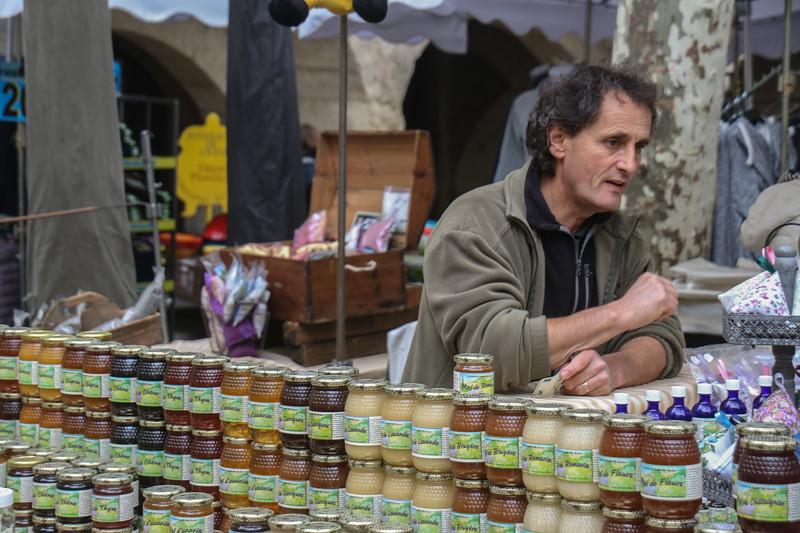 Uzès Market Day