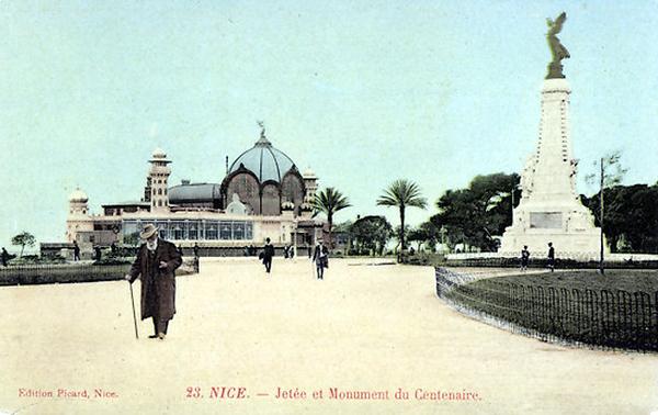 Jardin et monument du Centenaire