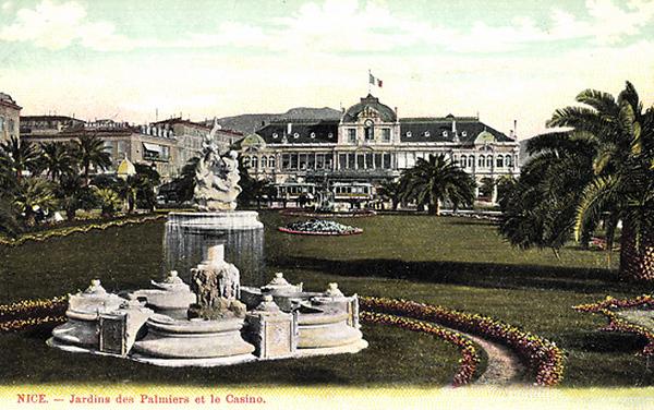 Jardins des Palmiers et le Casino