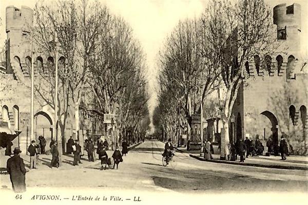 L'entrée de la Ville