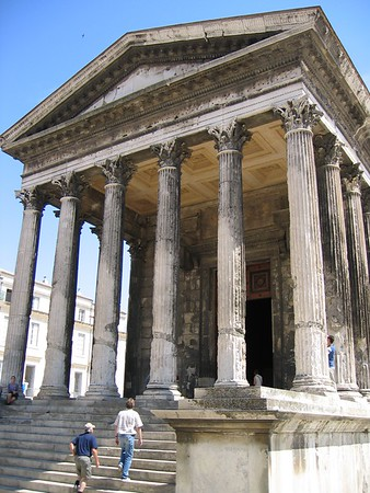 Roman Temple in Nîmes