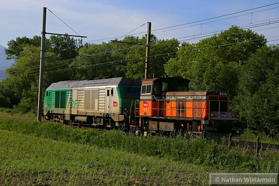 8514 & 475447 approach Montmelian 10/06/14  Watch the video at: http://youtu.be/aSLKsqVKp7Q