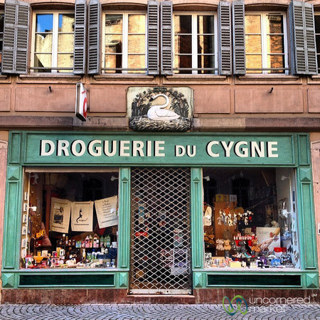 Traditional French Pharmacy - Strasbourg, France