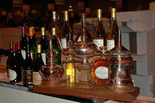 Cognac Bottles - Strasbourg, France