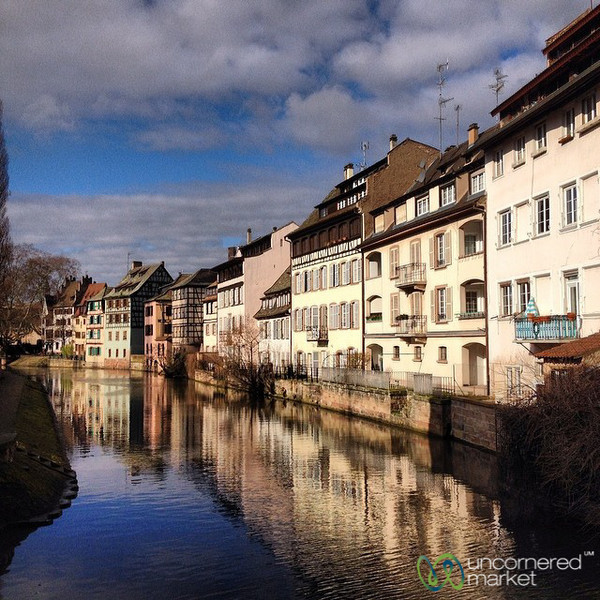 The Canals of La Petite France, Strasbourg
