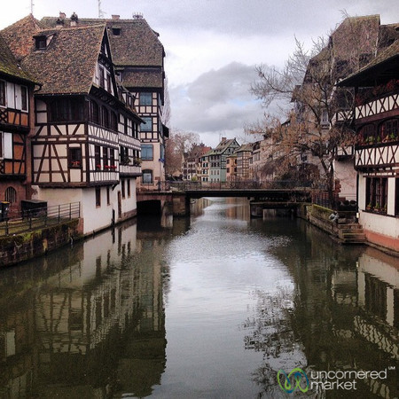 La Petite France Canal and Architecture - Strasbourg, France