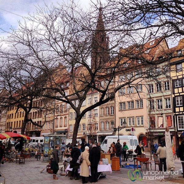 Marche Rue de la Douance - La Petite France, Strasbourg