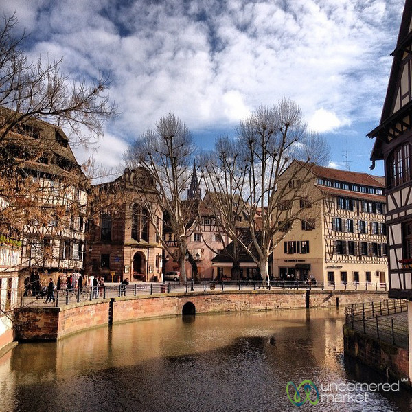 Strasbourg Canals and Architecture - France