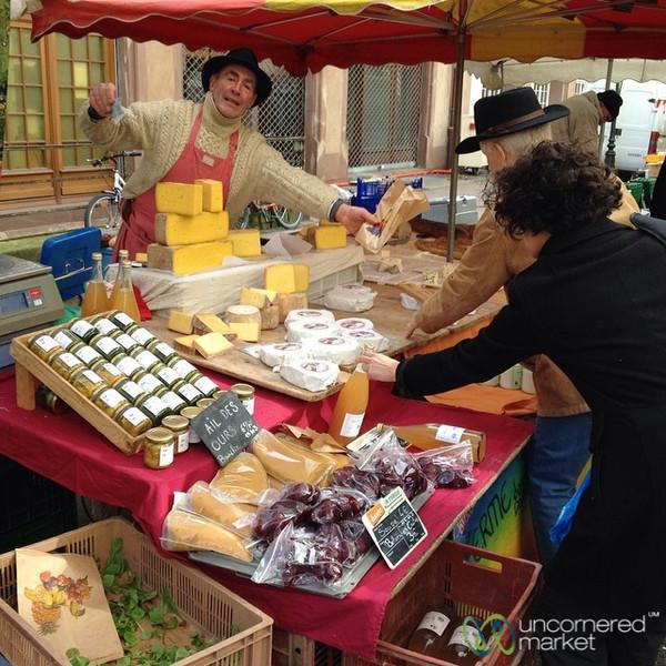 Saturday Market in Strasbourg, France