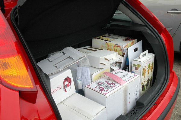 Our Stash:  Enough Wine for the Next Year? Strasbourg, France