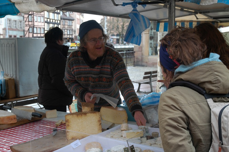 Cheese Vendor - Strasbourg, France